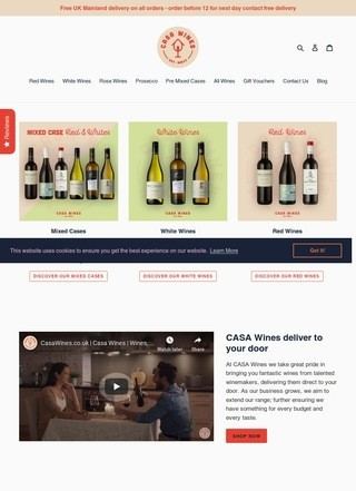 Casawines.co.uk