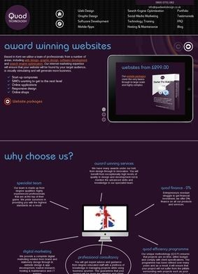 Quad Web Design
