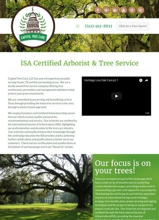 Capitol Tree Services
