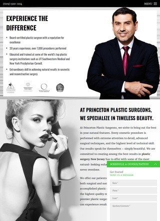 Princeton Plastic Surgeons in New Jersey