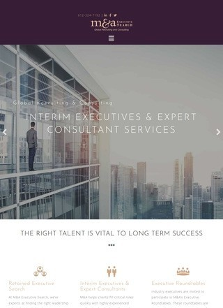Recruiting & Interim Executive Search Talent Acquisition