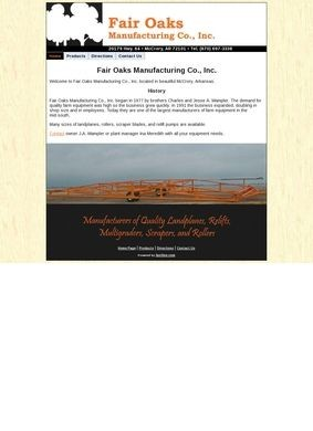 Fair Oaks Manufacturing Co., Inc.