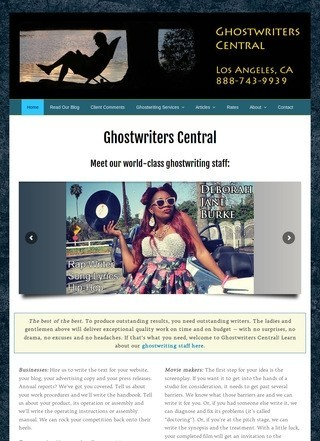 Ghostwriters Central