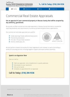 Commercial Real Estate Appraisers in Nassau County, NY
