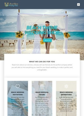 Beach Ideas for wedding