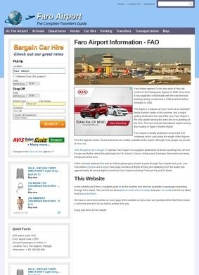 Faro Airport Information Guide