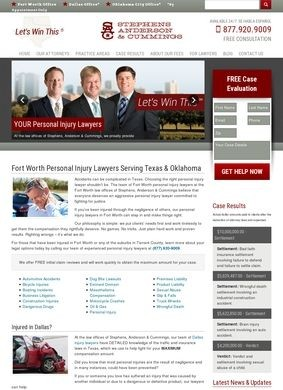 Stephens, Anderson & Cummings: Fort Worth Personal Injury Lawyers