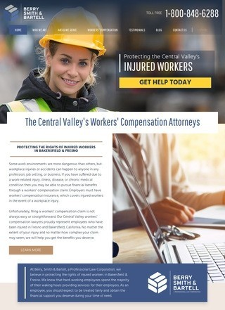 Workers Compensation Lawyer Bakersfield, CA - Berry, Smith & Bartell