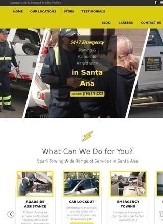 Spark Towing in Santa Ana