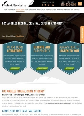 Los Angeles Federal Criminal Lawyer