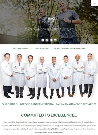 Long Island Spine Specialists, P.C.
