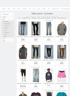 Shop Style: Teen Guys Store