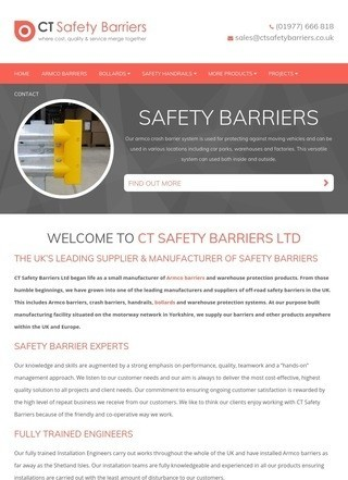 CT Safety Barriers