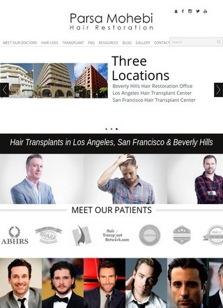 Los Angeles Hair Transplant Center - Parsa Mohebi