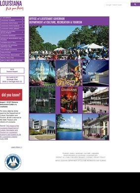 Louisiana Department of Culture, Recreation & Tourism